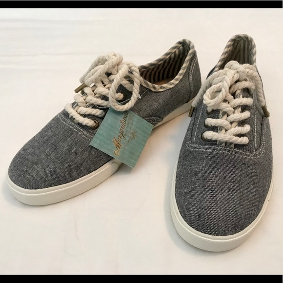 Margaritaville Denim Sneakers NWT 739a6be80d7